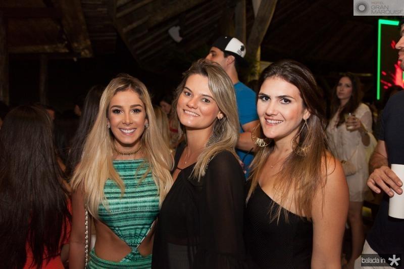 Priscila Silva, Camila Vasconcelos e Gabriela Baquit