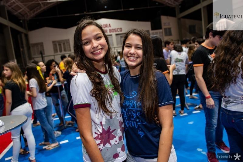 Iasmin Andrade e Manuela Arruda