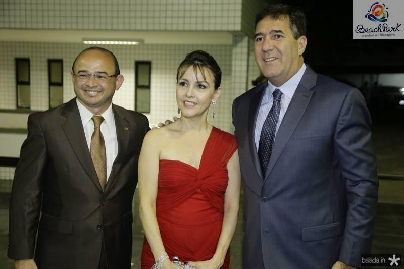 Sergio Aguiar, Circe Jane e Luiz Gastão Bittencourt