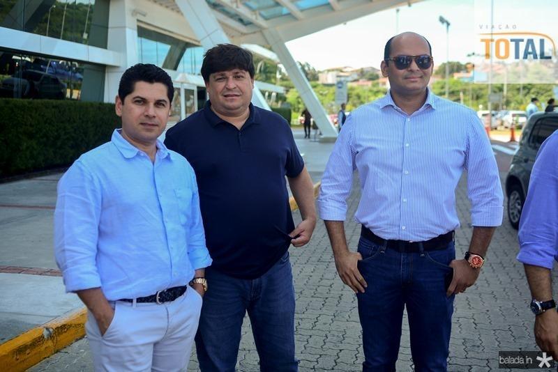 Pompeu Vasconcelos, George Lima e Otilio Ferreira