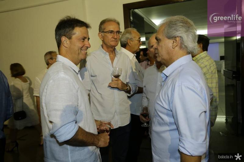 Chico Jereissati, Ricardo Brasil e Ricardo Rolim