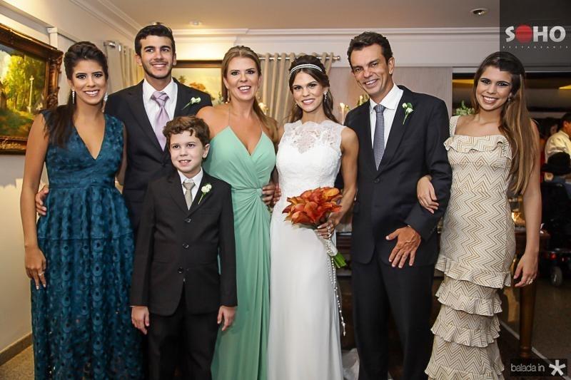 Marcela, Felipe, Fred, Alexandra, Mariana, Fred e Julia Pinto
