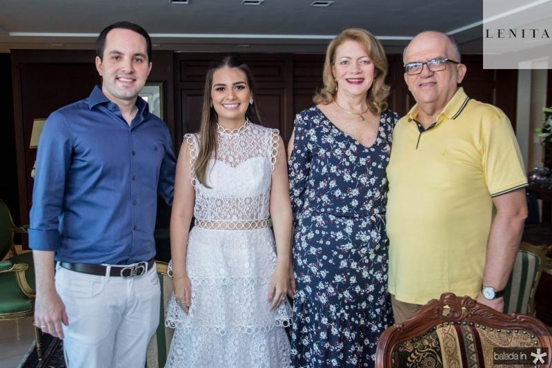 Tomas Moraes, Manuela Câmara, Marfisa e Fernando Ximenes