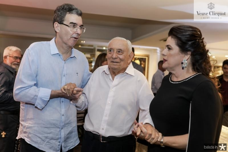 Geraldo Luciano, Adauto e Silvana Bezerra