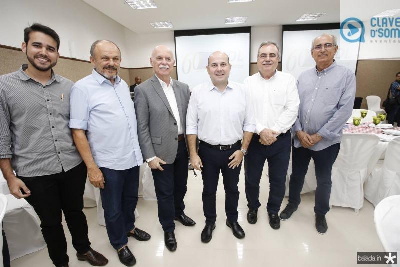 Cabral Neto, Honorio Pinheiro, Freitas Cordeiro, Roberto Claudio, Assis Cavalcante e Bosco Macedo