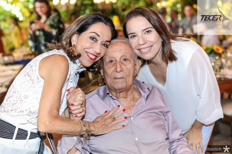 Marcia, Humberto e Denise Bezerra