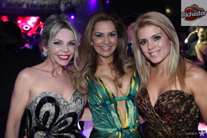 Lilian Porto, Ana Cristina Lima e Leticia Studart