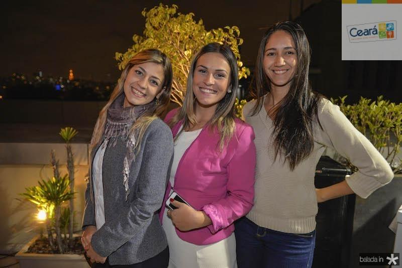 Monique, Vanessa e Mariana