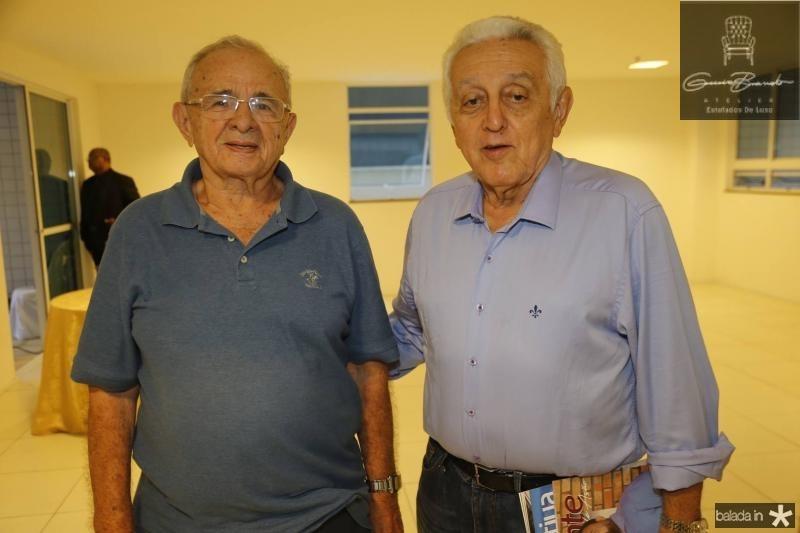 Edimo Linhares e Leoplodo Albuquerque