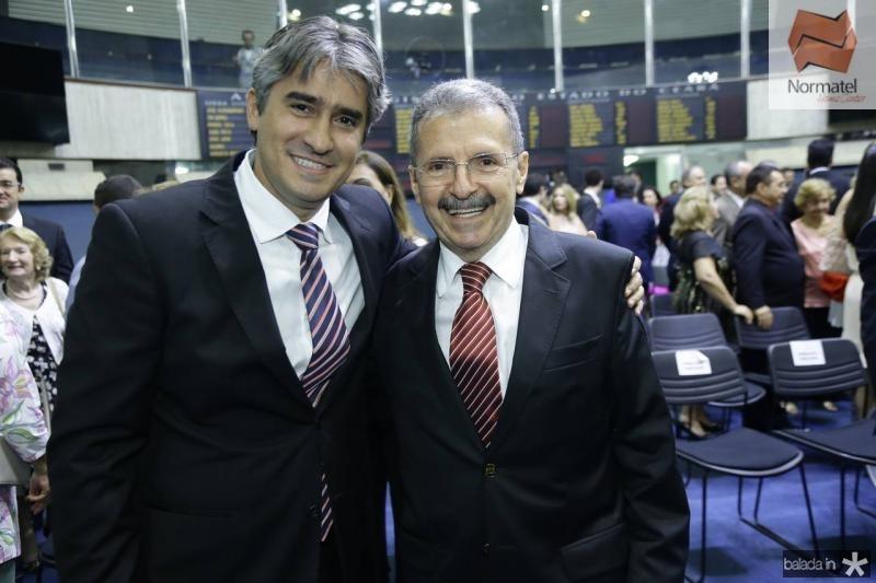 Rafael Benevides e Egydio Serpa