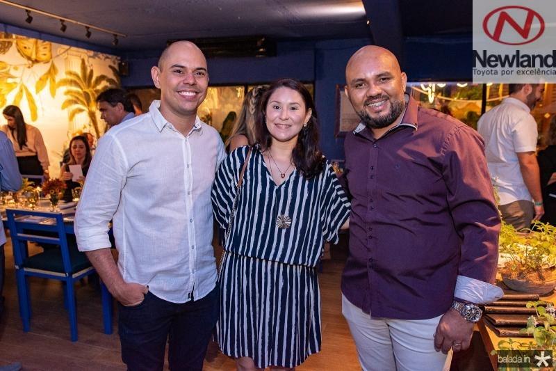 Atila Lira, Natalia Lira e Antonio Felix