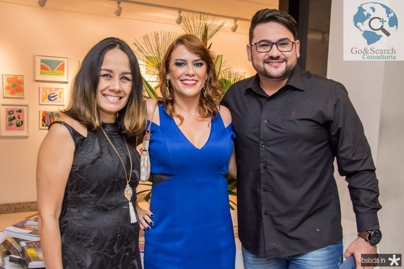 Solange Gomes, Katinha Rodrigues e Rodolfo Santiago