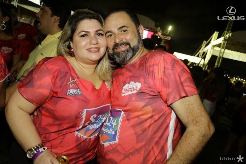 Kelly e Pedro Edson Ferreira