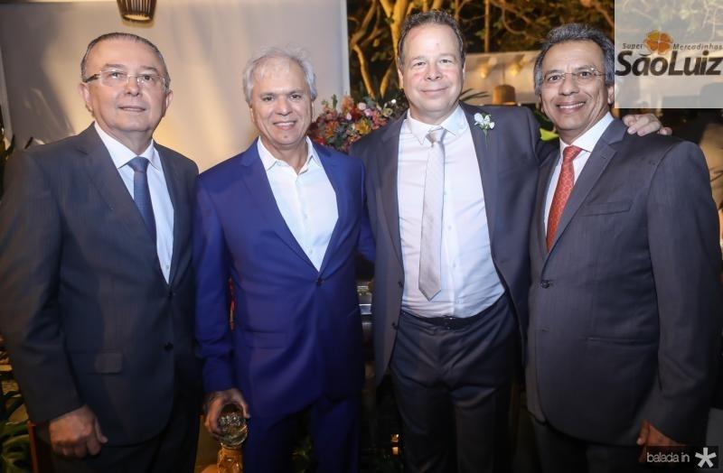 Antonio Jose Melo, Ricardo Rolim, Francisco Ventura e Eduardo Rolim
