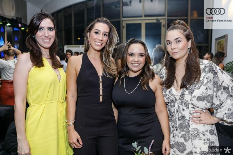 Marcela Albuquerque, Manoela Melo, Rebeca Chaves e Thais Oliveira