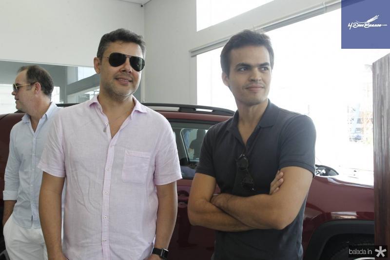 Gustavo Cruz e Lucas Avelino
