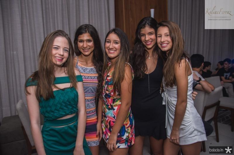 Maria Beatriz Rocha, Nicole Picanso, Beatriz Girao, bruna Barroso e Livia Fornajeiro