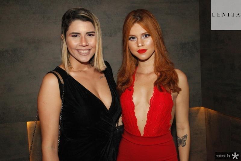 Jessica Souza e Alice Sampaio
