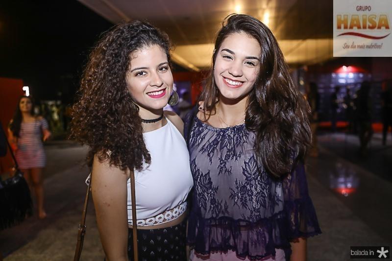 Renata Holanda e Amanda Albuquerque