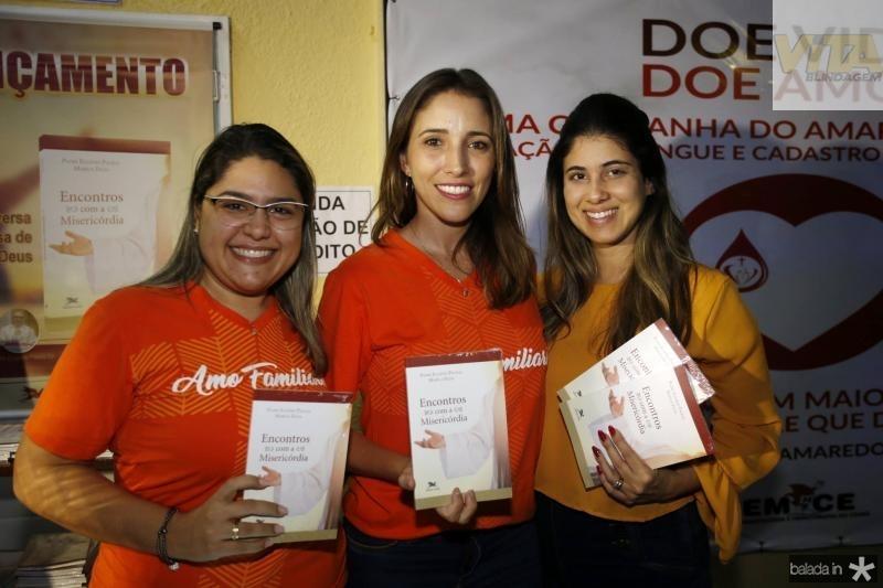 Luana Lima, Roberta Targino e Larissa Ximenes