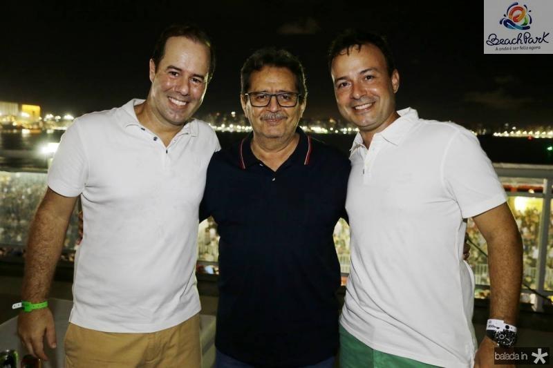 Cesar Ribeiro, Cesar Pinheiro e Danilo Serpa