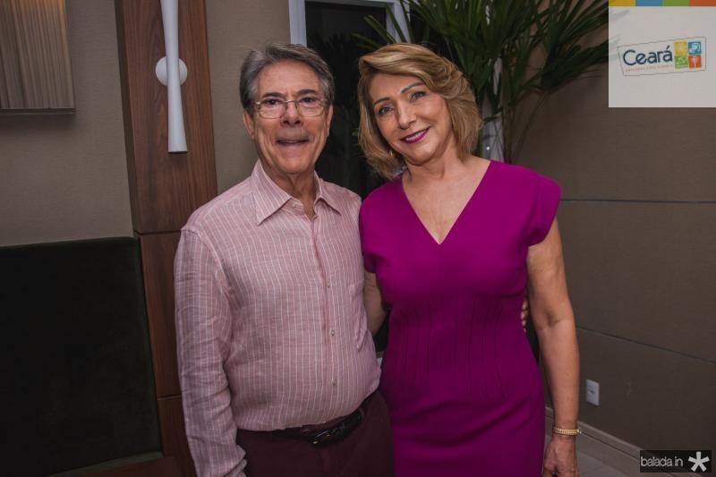 Plinho Melo e Francisca Gondim