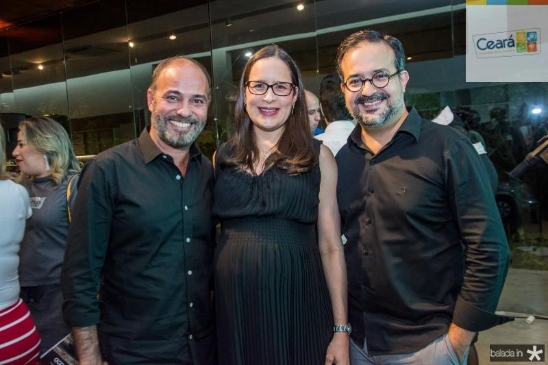 Marcus Novais, Manuela Crisostomo e Marcio Crisostomo