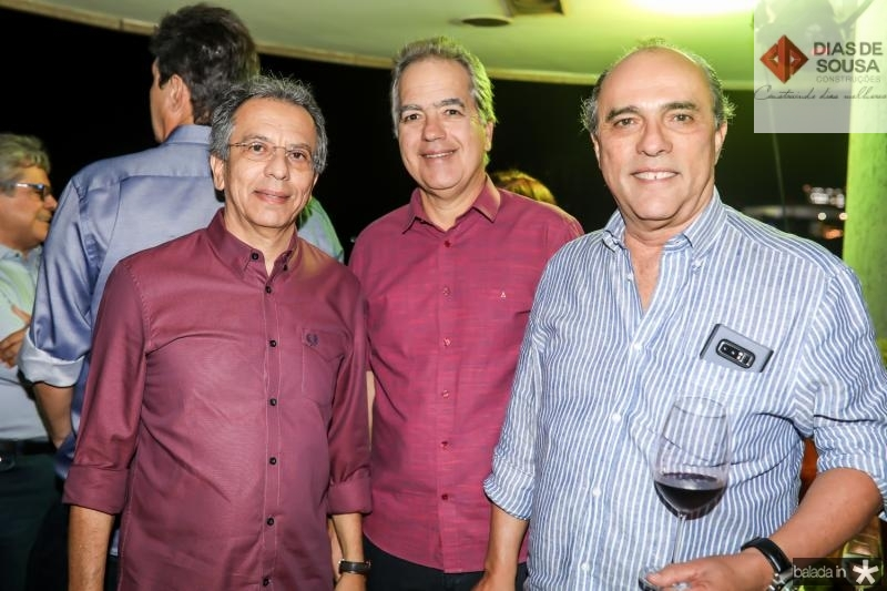 Eduardo Rolim, Eduardo Fiuza e Ernane Napoleao