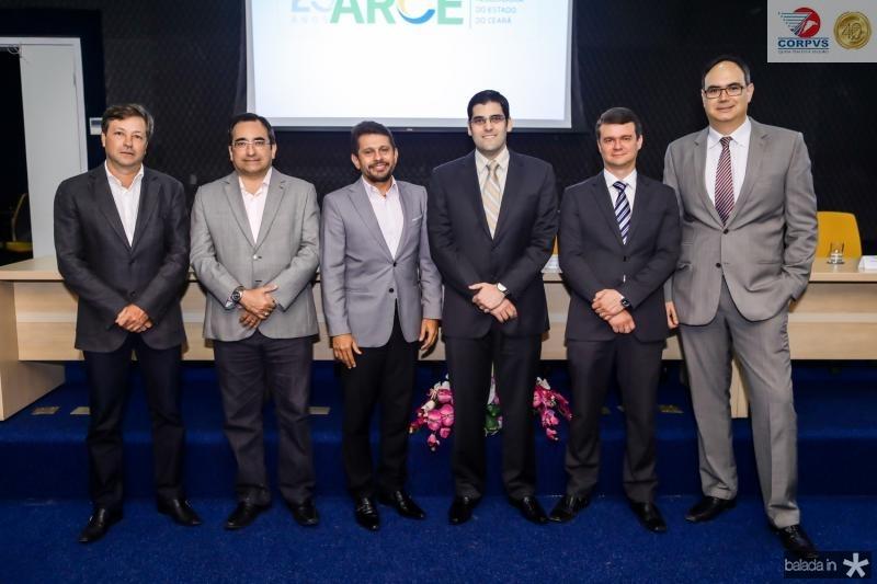 Fernando Alfredo, Jardson Cruz, Helio Winston, Joao Gabriel Rocha, Ariano Melo e Adriano Costa
