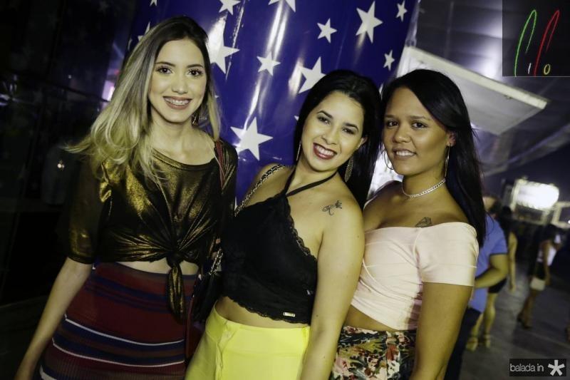 Bianca Fontenele, Kercia Cartaxo e Bruna Santos