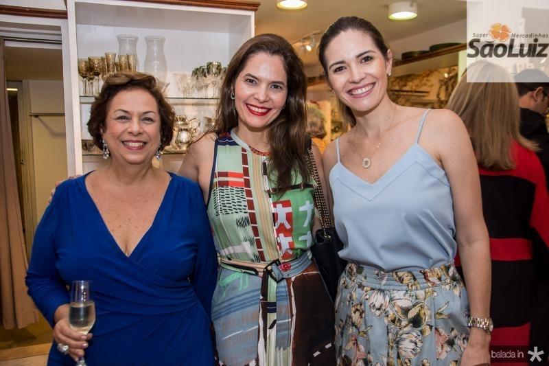 Julia Gurjão, Cristiana Carneiro e Natalia Cals