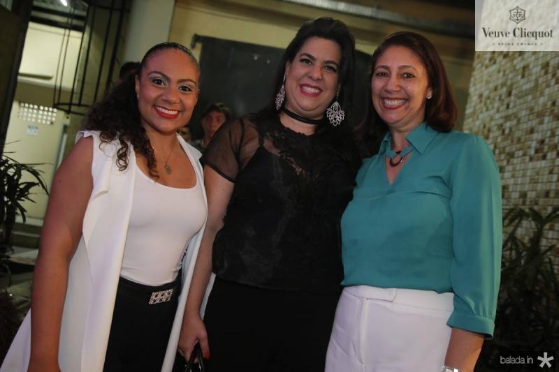 Samea Maia, Patricia Ferreira e Linda Tavares