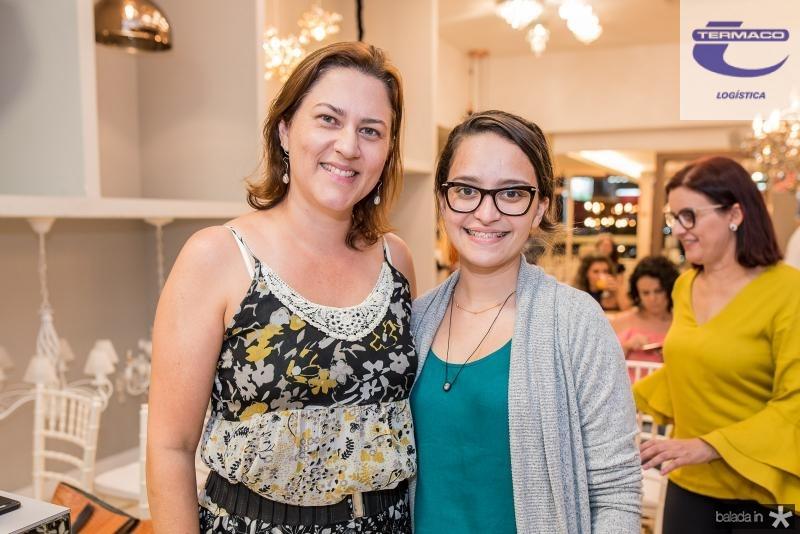 Tatiana Melo e Cris Andrade