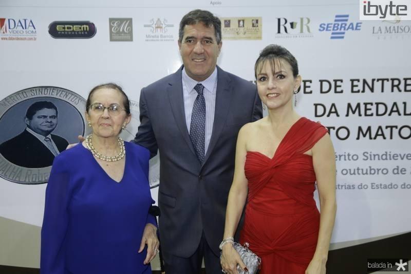 Zenilde Matoso, Luiz Gastão Bittencourt e Circe Jane