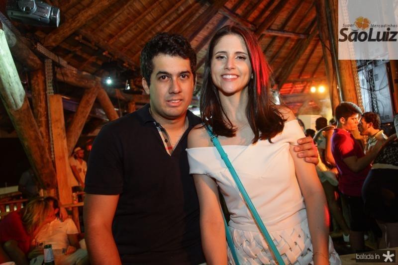 Artur Bezerra e Manuela Gladstone