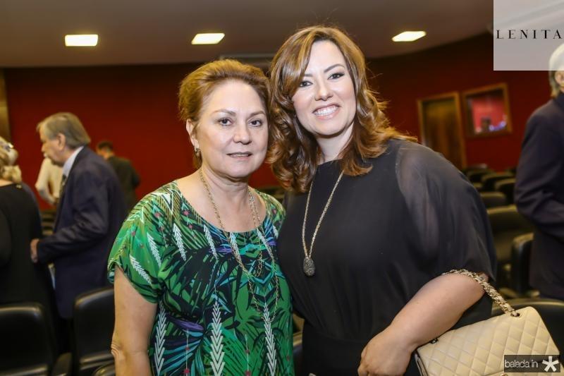 Paula Frota e Aline Barroso