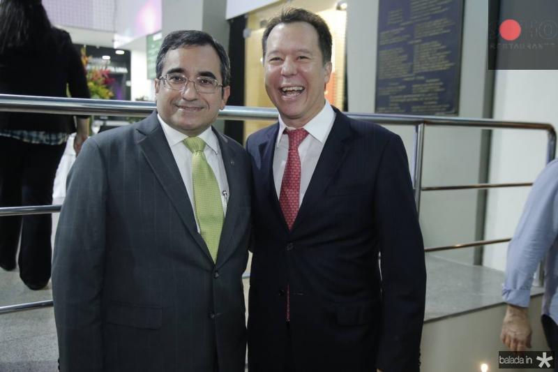 Jadson Cruz e Carlos Fujita