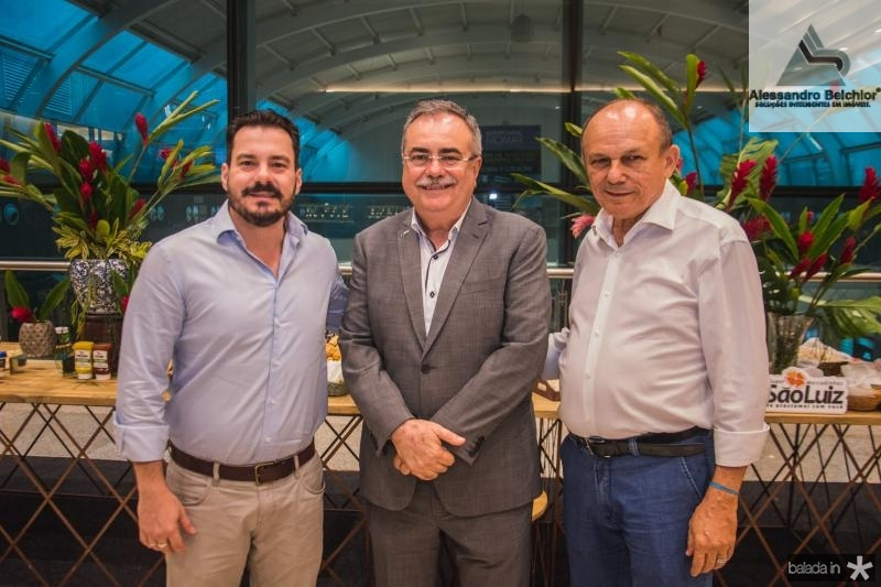 Miguel Filho, Assis Cavalcante e Honorio Pinheiro