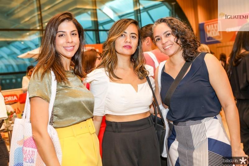 Luciana Borges, Aline Borges e Marina Carleial
