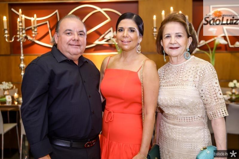 Pedro Carapeba, Maria Lucia e Lenita Negrao