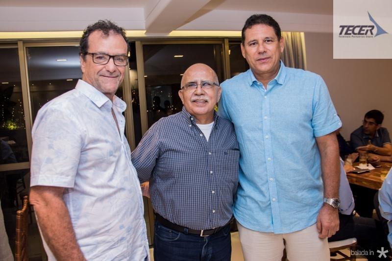 Alexandre Martins, Leo Teixeira e Marcus Medeiros