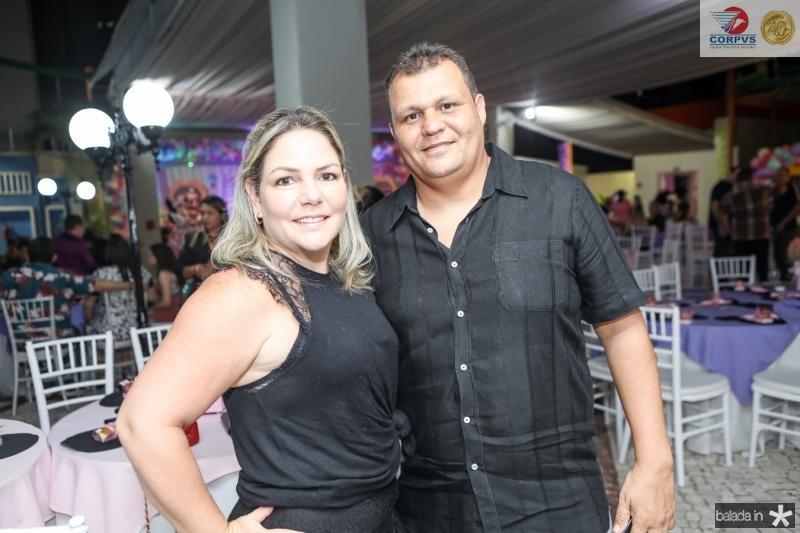 Carol Amora e Fernando Braga