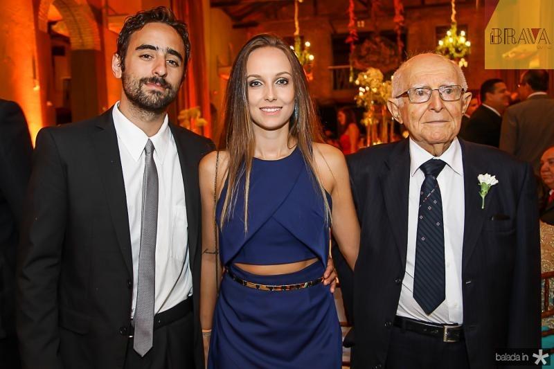 Marcos Bere, Grace Aflek e Jober Stap