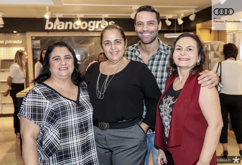 Magdalena Bomfim, Claudia Castelo Branco, Filipe Andrade e Lidia Militao