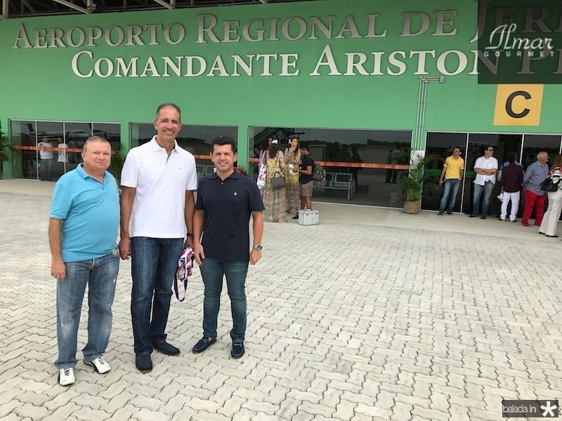 Alexandre Adolfo, Regis Medeiros e Erick Vasconcelos
