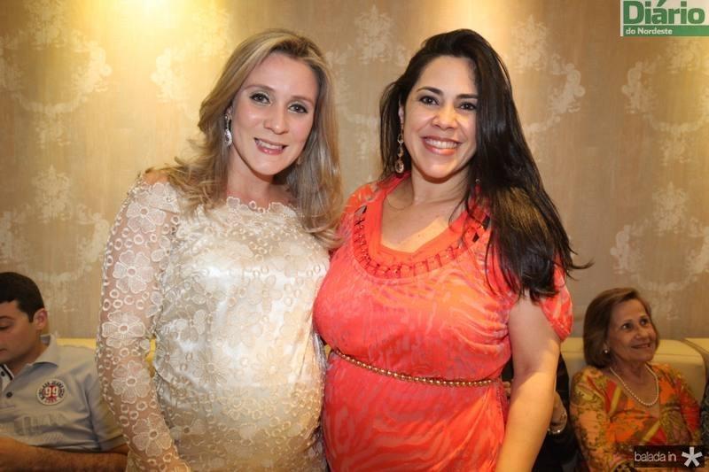 Olga Saraiva e Vera Lucia