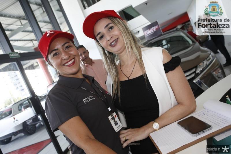 Juliana Moreira e Neiara Sena