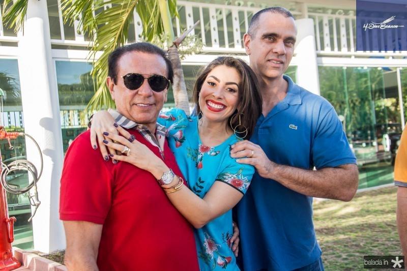 Gaudencio Lucena, Nicole e Igor Parente