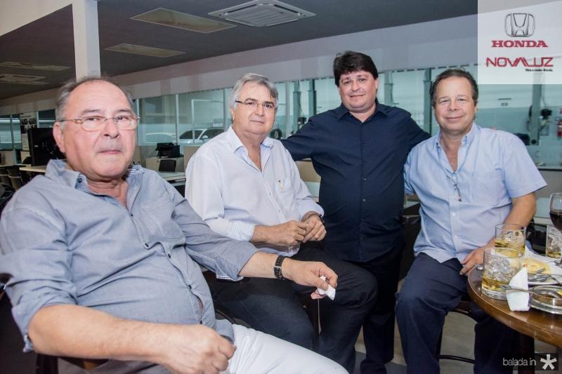 Edmilson Lima, Evandro Pessoa, George Lima e Francisco Ventura