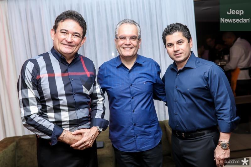 Fernando Santana, Ricardo Braga e Pompeu Vasconcelos